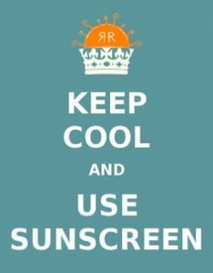 KeepCoolUseSunscreen