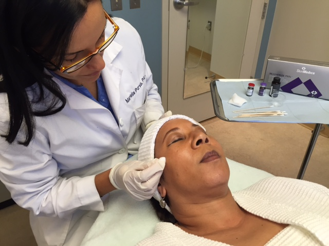 Chevy Chase Cosmetic Center Chemical Peel