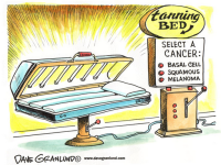 Tanning Bed Skin Cancer Risks