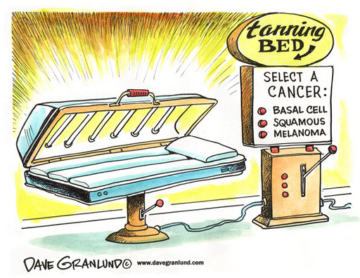 Tanning Bed Skin Cancer And Aging Skin Dangers