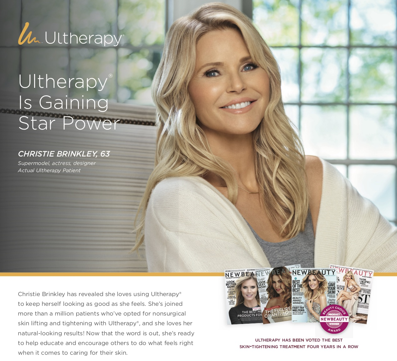 Ultherapy non-surgical skin tightening option